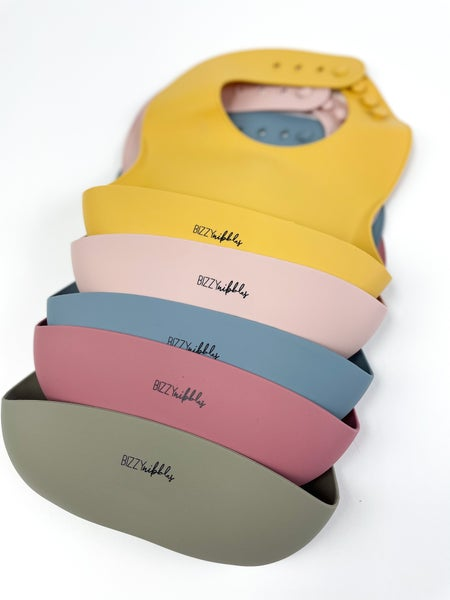 Bizzy Nibbles Silicone Bibs *Final Sale*