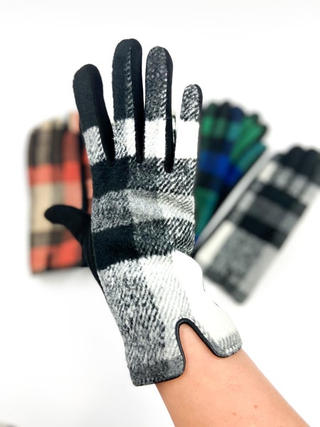 Flannel Touch Screen Winter Gloves