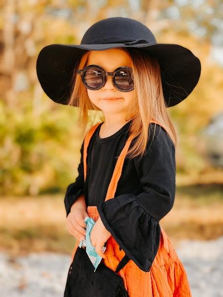 Avery Belle Sleeve Romper (Variety of Colors)