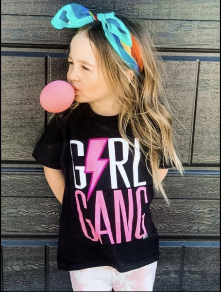 Girl's | Girl Gang Graphic Tee