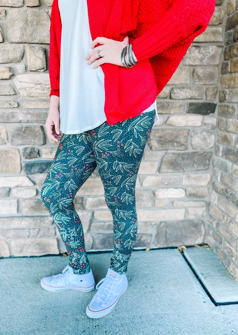 Women's Frosted Cranberry Bizzy Butter Leggings