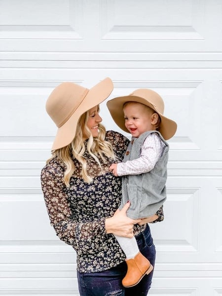 Giselle Floppy Hat { Mommy + Me  Collection}