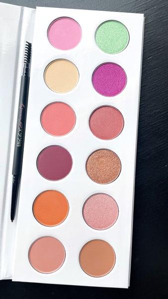 Bizzy Beauty | Warm & Bright Eye Shadow Palette