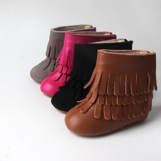 The Finley Fringe Boots