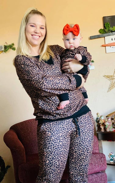 Women's Cheetah Lounge Set |Mama + Me