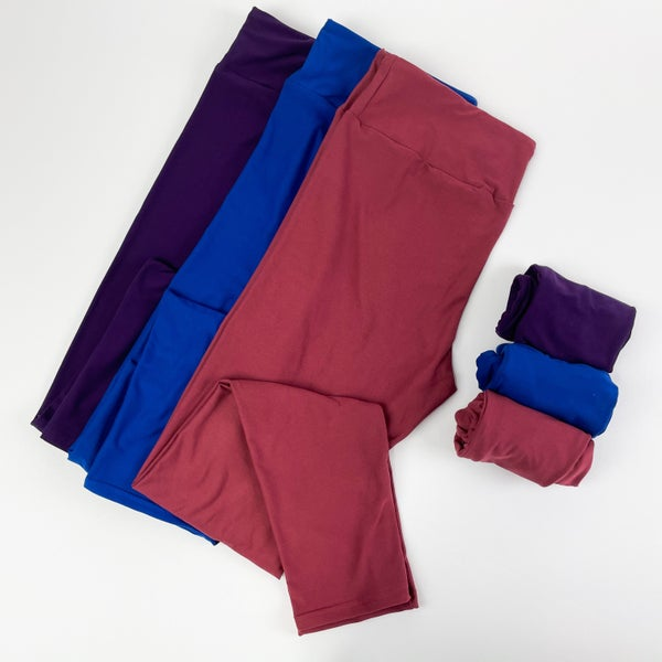 Women's | Bizzy Butter Leggings: Jewel Tone Solids