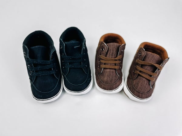 Carson   High Top Soft Sole Sneakers