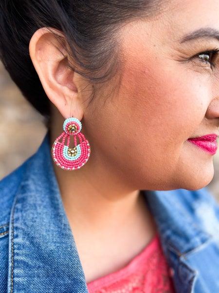 Montego Bay Chandelier Earrings