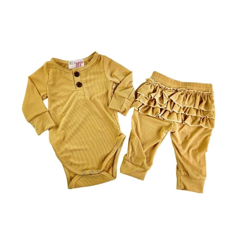 Reign Ruffle Joggers