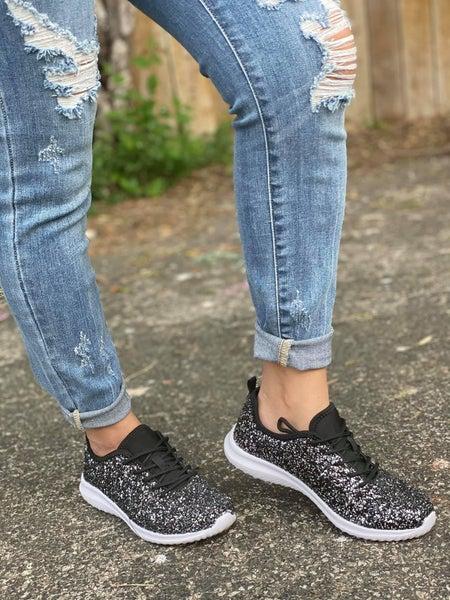Sequin Shimmer Shoes | WOMEN'S Tennis Shoes