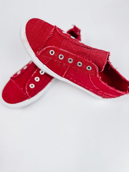 Red Babalu Shoes