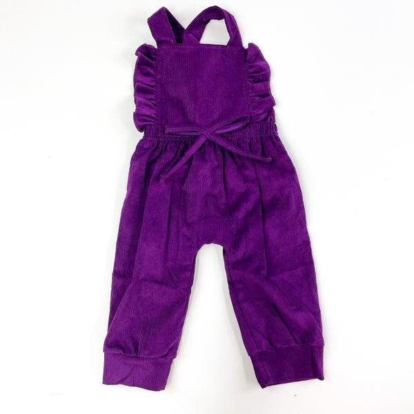 Grape Jelly Corduroy Jumpsuit