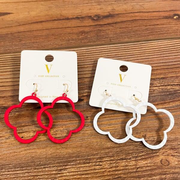 Caroline   Clover Dangle Earrings