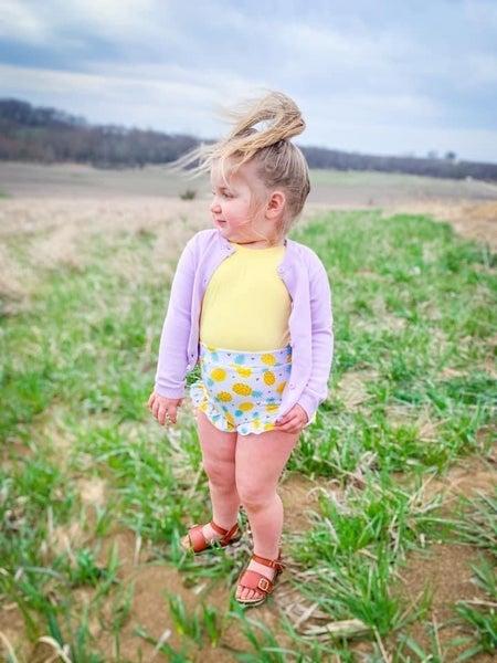 Sweet Avery | Pineapple Ruffle Bummies