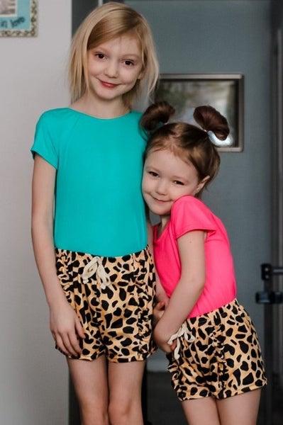 Lola | Cheetah Shorts