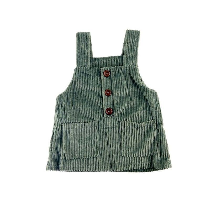Lorelei Green Corduroy Dress