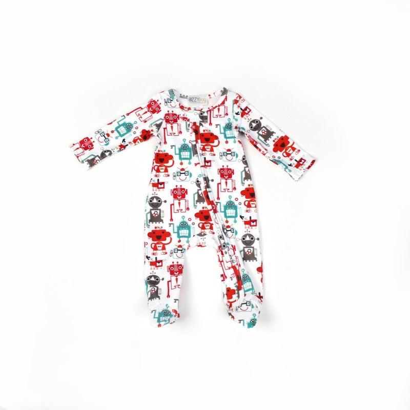 Mr. Roboto One Piece Pajamas