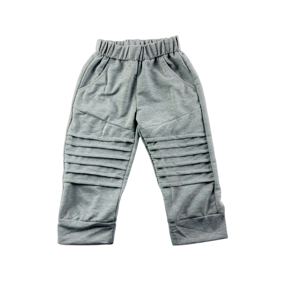 Moto Heather Gray Joggers