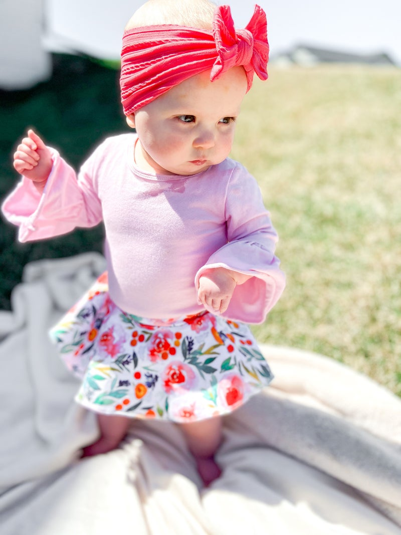 Avery Belle Sleeve Romper ( Variety of Colors)