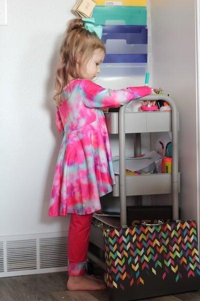 Mila Two Piece Tie-Dye Set