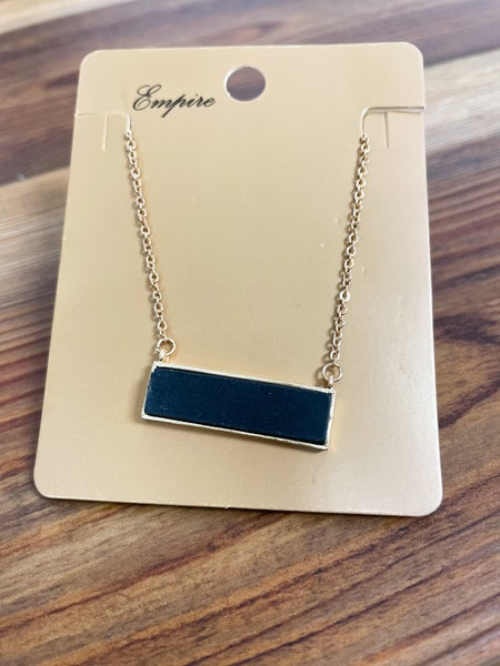 Ginny | Rectangle Pendant