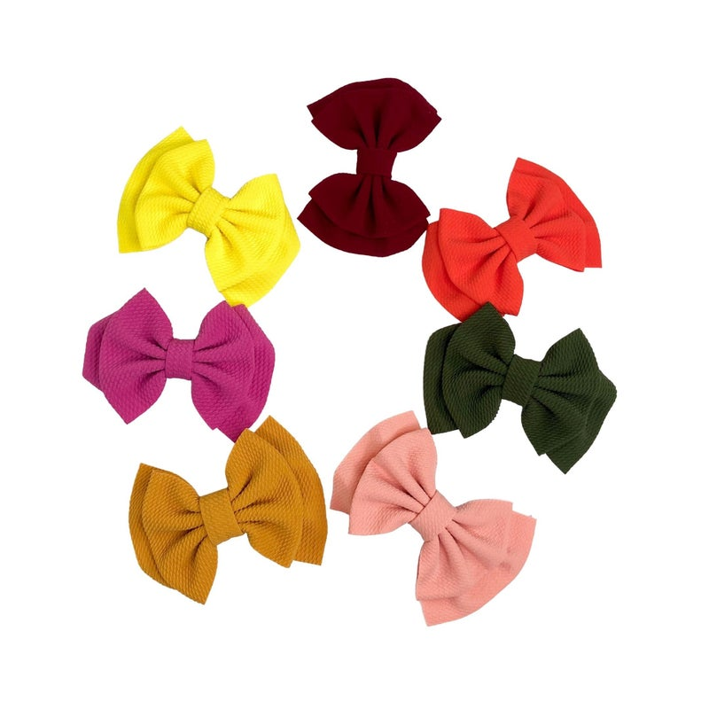 Afton Double Bow Collection: Set of 7