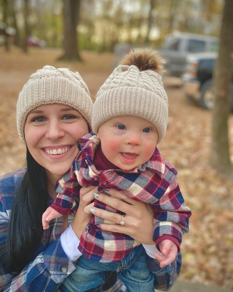 Mama + Me Cable Knit Beanies
