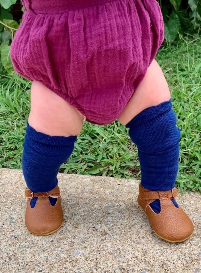 Knee High Ruffle Socks