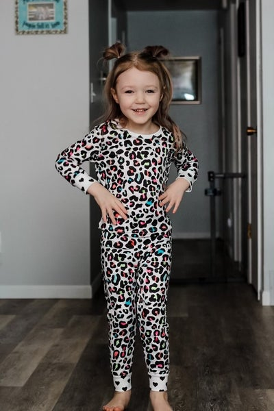 Zoey | Cheetah Two Piece Pajamas