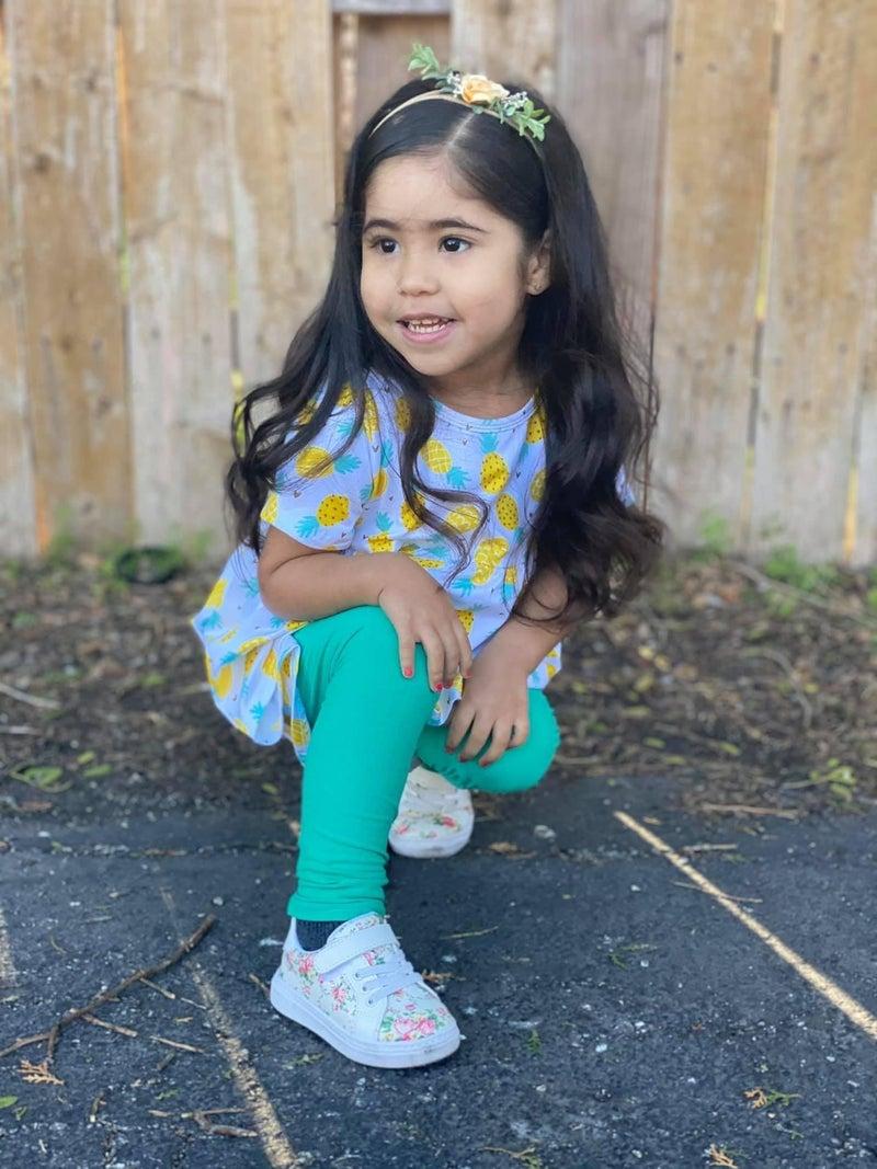 Girls   Bizzy Butter Leggings : Spring Solids
