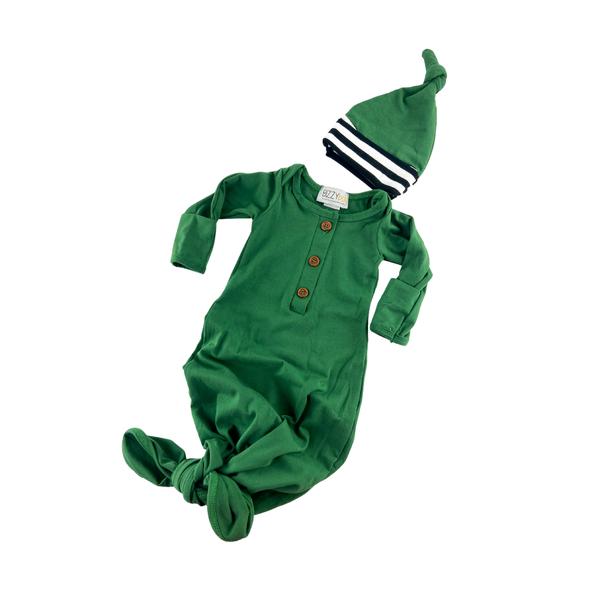 Everett  Newborn Gown set