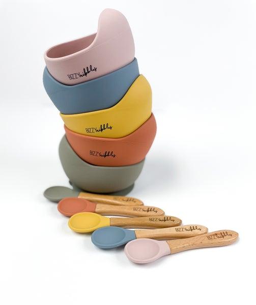 Bizzy Nibbles Silicone Bowl Sets *Final Sale*
