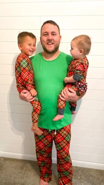 Retro Christmas Pajama Bottoms | Men's Fit