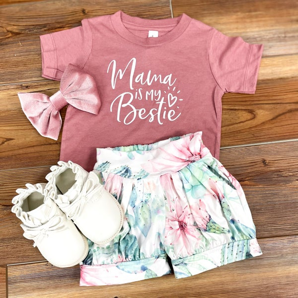 Mama is My Bestie Graphic Tee