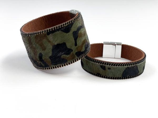 Camo Magnetic Cuff bracelet
