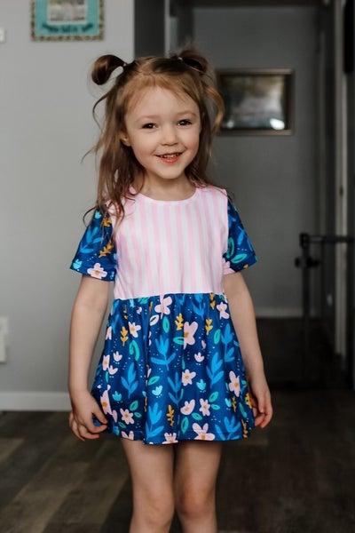 Lollipop Floral Twirl Dress/Tunic