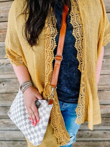 Women's   Linen & Lace Kimono
