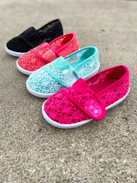 Erynn | Lace Slip-On Shoes