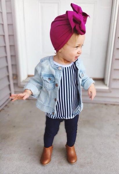 Audrey Big Bow Turbans