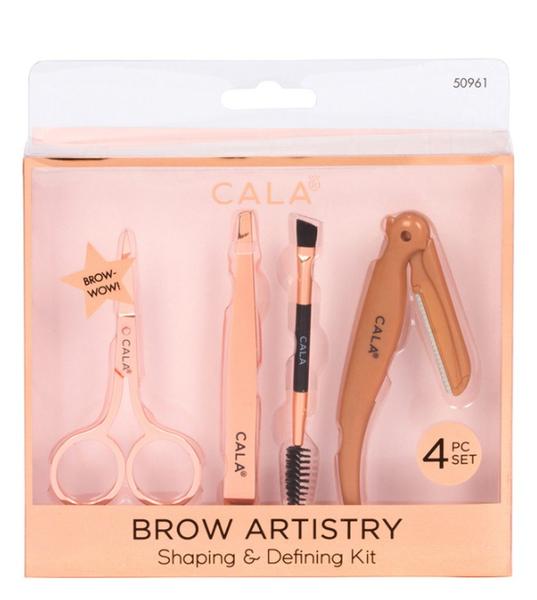 Brow Shaping & Defining Kit | 4 Piece Set
