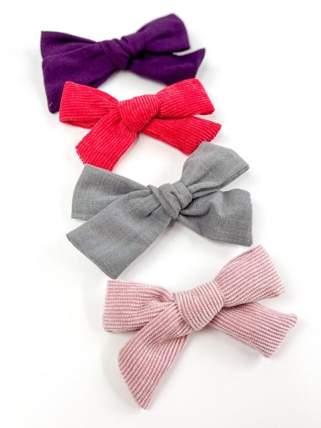 Layla Set of 4  Bow Clips