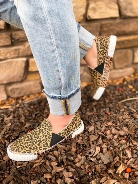 Women's | Cheetah | Slip On Shoe