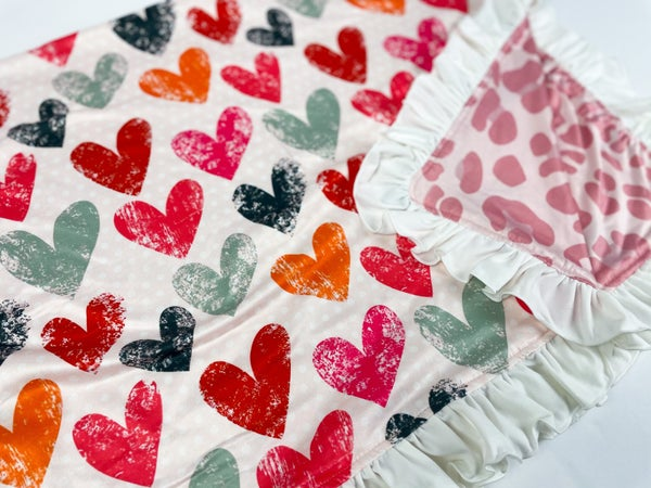 All of my Heart | Ruffle Butter  Blankets