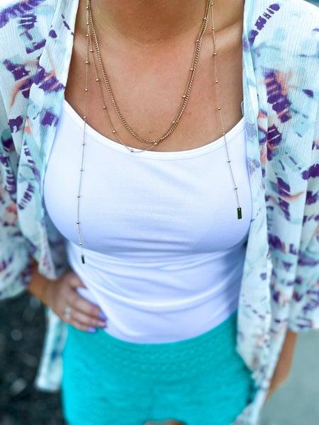 Chloe | Dainty Gold Necklace