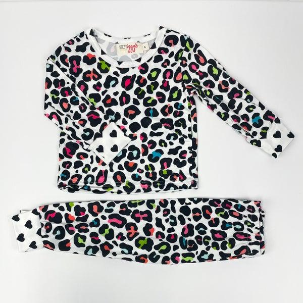 Zoey   Cheetah Two Piece Pajamas