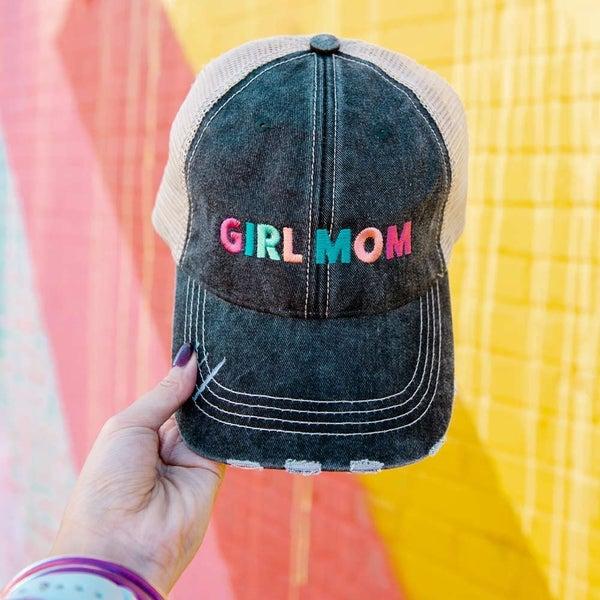 Boy Mom/Girl Mom Hat