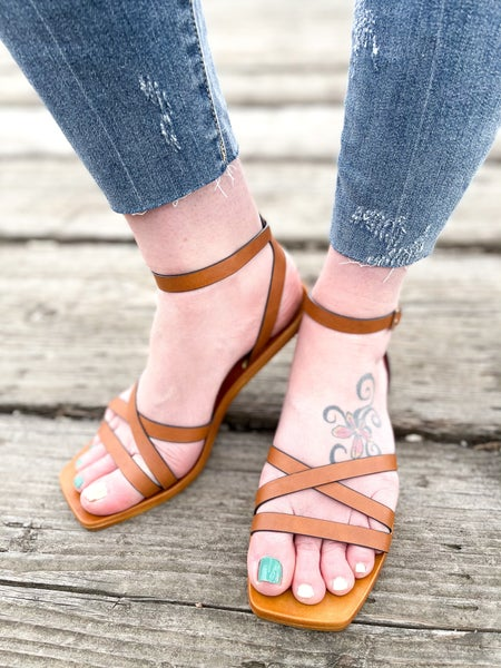 Boho Chic | Ankle Strap Sandals | Daily Deals
