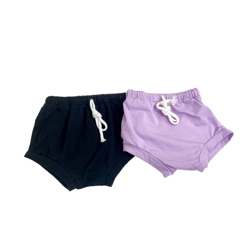 Solid Shorties ( 2 Colors)