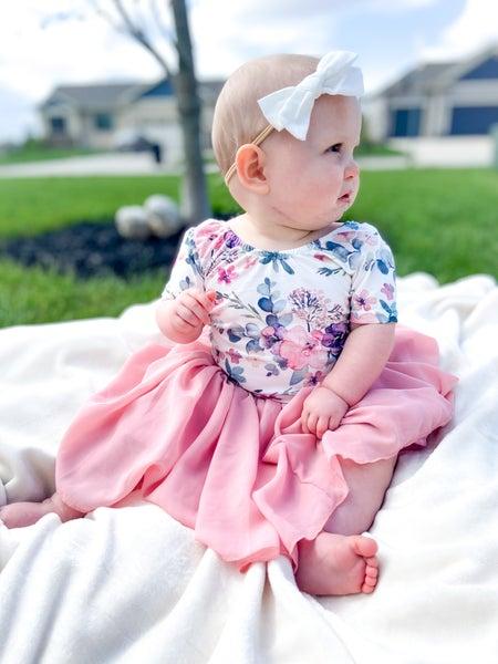 Amelia Chiffon Mini Skirt
