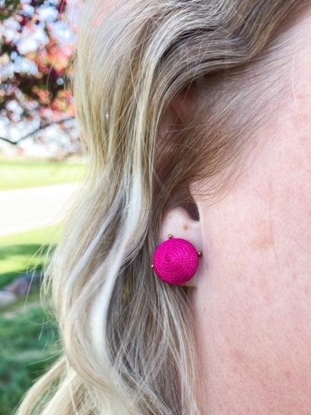 Beehive Twist | Stud Earrings